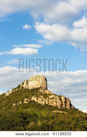 Solutre Rock, Burgundy, France