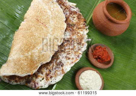 Onion Dosa Is Typically South Indian Pancake.