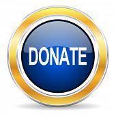donate icon poster