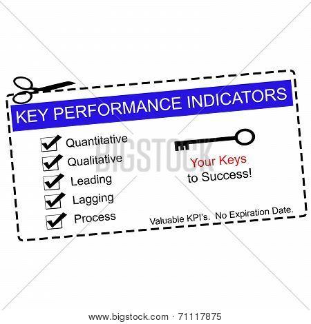 Blue Key Performance Indicators Coupon