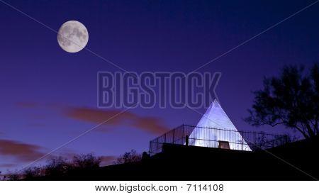 Hunt's Tomb Pyramid in Tempe Arizona