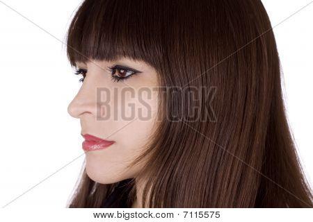 Brunette Hair Style