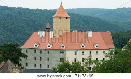 Panorama of Veveri Castle - main building