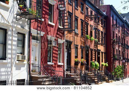 New York City - Gay Street In Manhattan