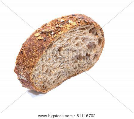 Whole Grain Bread Slice