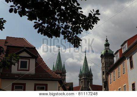 Naumburg Cathedral in Naumburg, Saxony Anhalt, Germany.