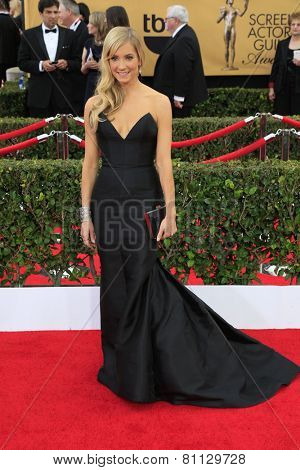 LOS ANGELES - JAN 25:  Joanne Froggatt at the 2015 Screen Actor Guild Awards at the Shrine Auditorium on January 25, 2015 in Los Angeles, CA