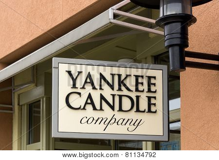 Yankee Candle Company Retail Store Exterior