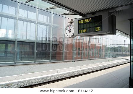 Empty Station Platforms