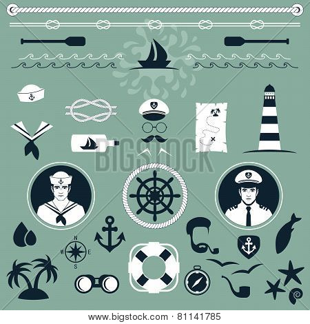 nautical icons,