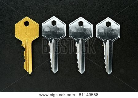 Golden key among ordinary keys