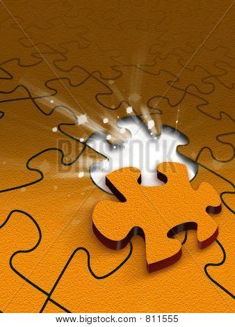 Puzzle scene