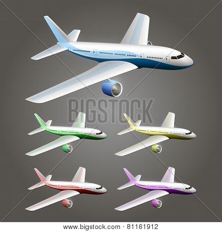 Illustration of an aircraft