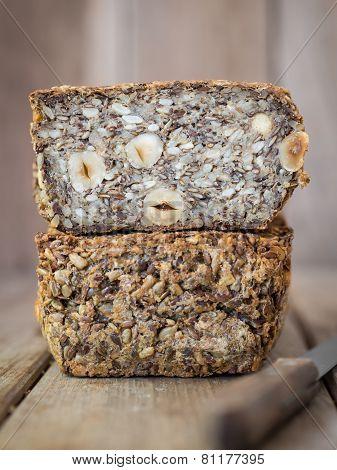 Flourless bread