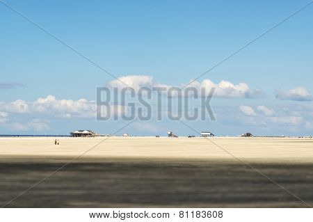 Beach St. Peter Ording