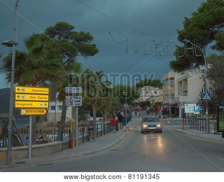 Sant Elm Before The Storm