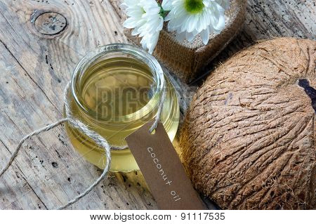 Coconut Oil, Essential Oil, Organic Cosmetic
