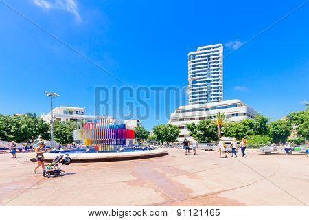 Dizengoff Square, Tel-aviv