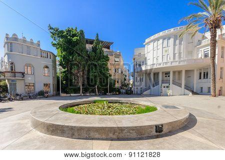 Bialik Square, Tel-aviv