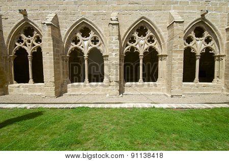 Rueda Cistercian monastery, XIII century, Escatron, Zaragoza, Aragon, Spain.