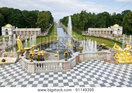 Fountains In Petehof