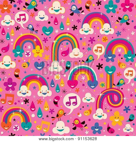 rainbows pattern