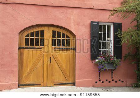 Barndoor Entrance