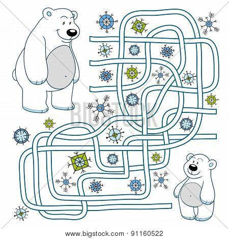 Maze Game (polar Bears)