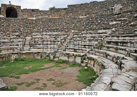 The Odeon - Ephesus' small theater