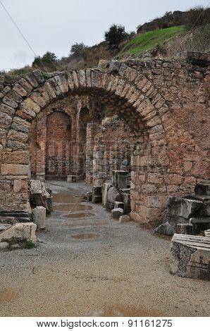 The Scholastica Baths in Ephesus