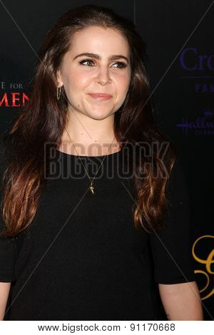 LOS ANGELES - MAY 19:  Mae Whitman at the 40th Anniversary Gracies Awards at the Beverly Hilton Hotel on May 19, 2015 in Beverly Hills, CA