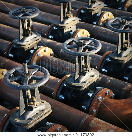 Oil and gas pipe line valves