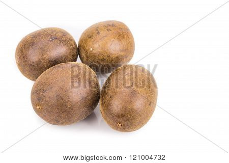 Lo Han Guo, Monk or Buddha fruit in white background