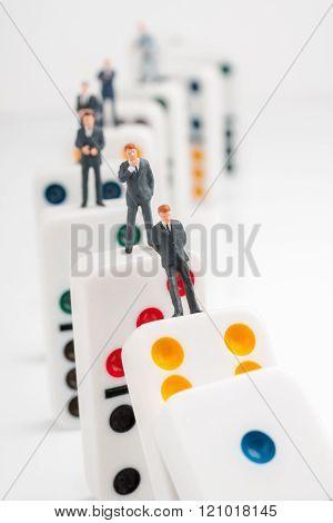 Corporate Domino Effect