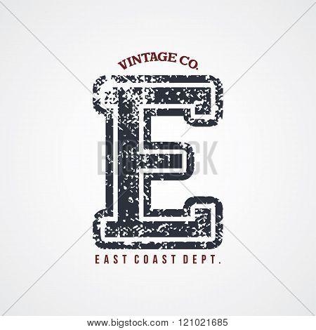 Varsity Number Garment Theme