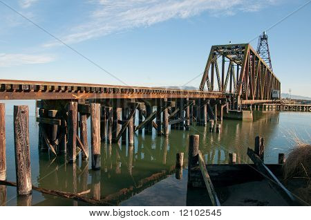 Railroad Bridge Across Swinomish Channel