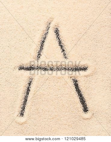 A Letter Written On Sand
