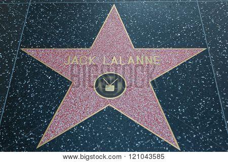Jack Lalanne Hollywood Star