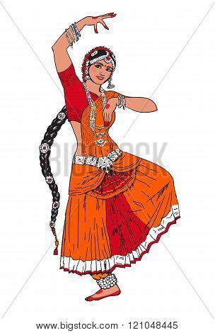 Indian Bollywood girl