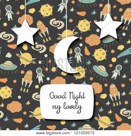 Good night cosmic background