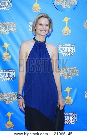 BURBANK - JUN 25: Joelle Carter at the 41st Annual Saturn Awards at The Castaway on June 25, 2015 in Burbank, California,