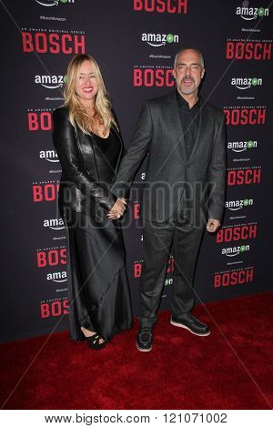 LOS ANGELES - MAR 3:  Titus Welliver at the Bosch Season 2 Premiere Screening at the Silver Screen Theater at the Pacific Design Center on March 3, 2016 in West Hollywood, CA