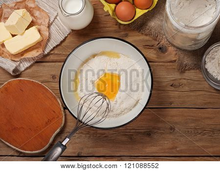 Ingredients For Cooking Bakery Products