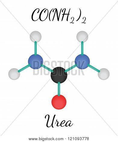 CH4N2O urea molecule