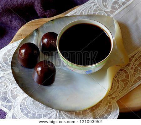 liquer filled handmade bitter chocolate sweet mood
