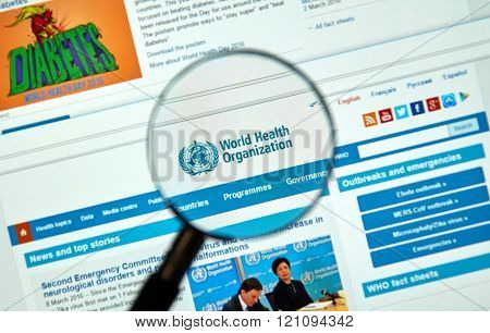 World Health Organisation Logo And Web Site
