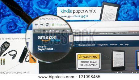 Amazon On The Web