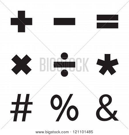 Basic Mathematical Sign