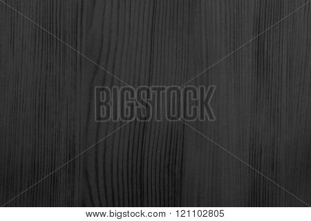 Wood Texture Of Black Color With Streaks