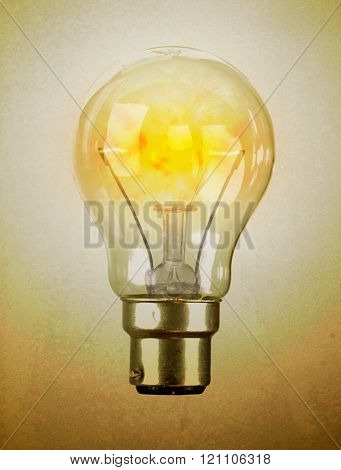 Lightbulb With The Filament Left Blank